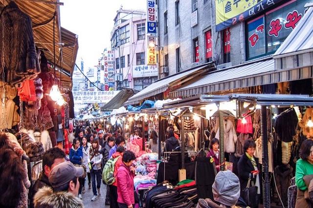 Dongsungro – phố thời trang được yêu thích nhất tại Daegu