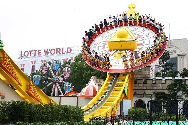 Lotte World – Công viên giải trí lớn nhất tại Seoul