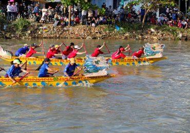 Trải nghiệm lễ hội đua thuyền độc đáo ở Thanh Hóa vào dịp Tết