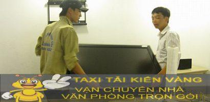 Dịch vụ Taxi tải Kiến Vàng hướng dẫn đóng gói đồ đạc cần vận chuyển