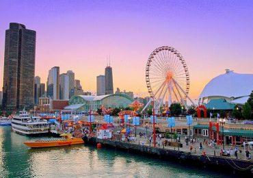 Bến tàu Navy Pier – điểm du lịch hút khách nhất tại Chicago