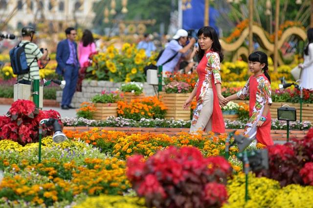 Gợi ý những điểm chụp hình Tết ở TP. Hồ Chí Minh