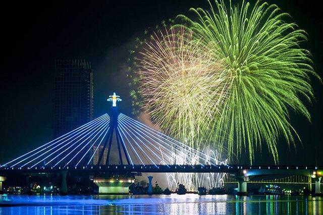 Những điểm ngắm pháo hoa đêm giao thừa đẹp nhất ở Đà Nẵng