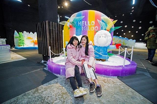 Hello Igloo – điểm vui chơi lý tưởng ở Nha Trang dịp Tết