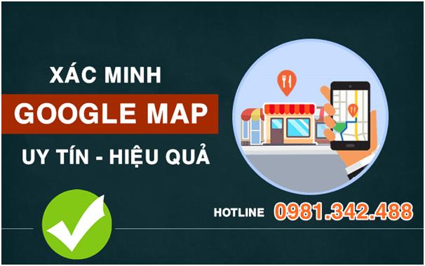 Dịch vụ xác minh Google Map nhanh chóng uy tín