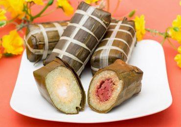 Đi tìm nguồn gốc và ý nghĩa món bánh tét ngày tết của Nam Bộ