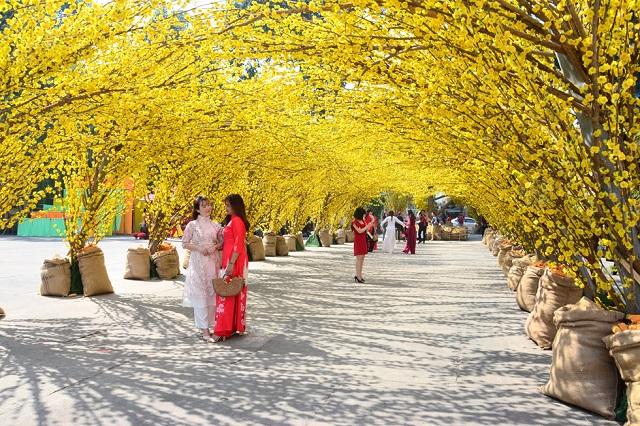 Khám phá lễ hội tết Việt tại Nhà Văn hóa Thanh niên TP.HCM