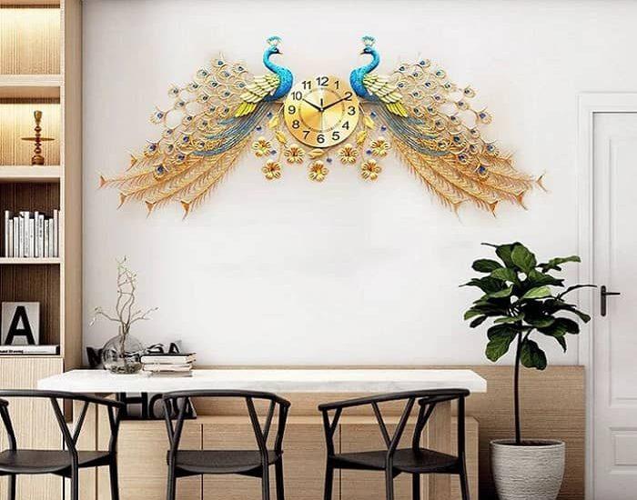chọn đồng hồ trang trí nội thất cho không gian sống của bạn