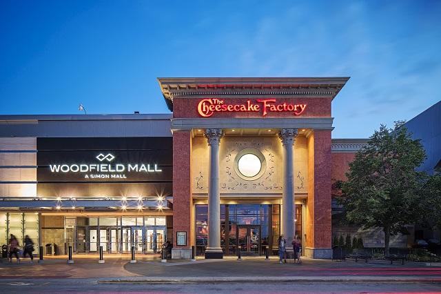 Woodfield Mall là trung tâm mua sắm phức hợp rất nổi tiếng ở Chicago