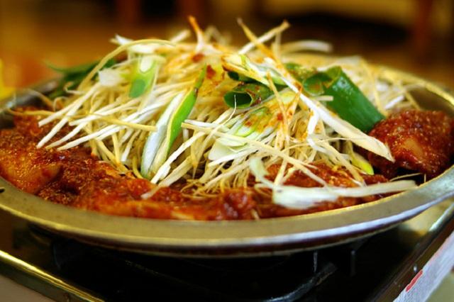 Bokeo bulgogi có thể tìm thấy dễ dàng ở các địa chỉ ẩm thực tại Daegu