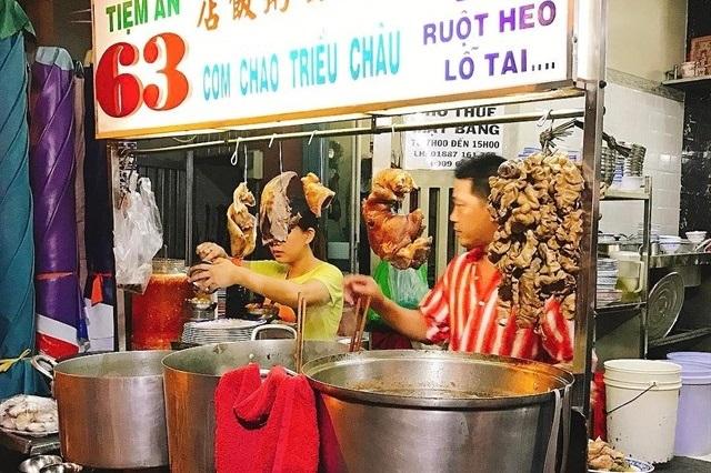 Phố người Hoa là một nơi lý tưởng để thưởng thức nhiều món ăn ngon