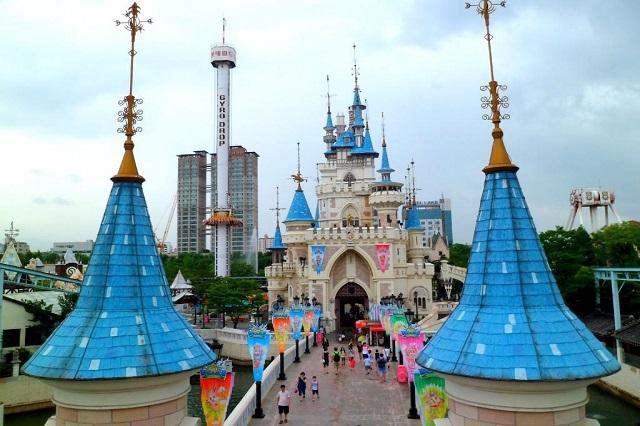 Công viên giải trí Lotte World – điểm vui chơi hấp dẫn nhất ở Seoul